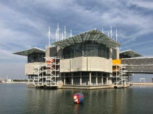 Oceanário in Lissabon