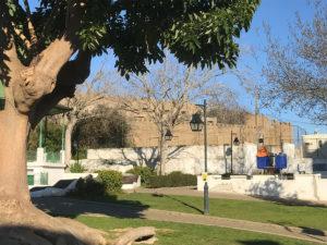 Der alte Ortskern von Almada